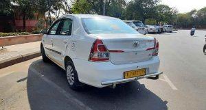 Taxi Service In Jaipur Etios Cab RJ14TE7275